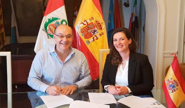 Assinámos um acordo de colaboração com o Centro Español del Peru.