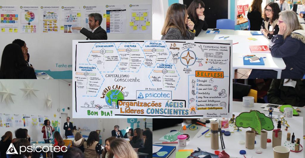 Workshop organizações ágeis, líderes conscientes