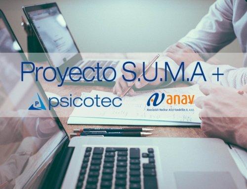 ANAV y Psicotec juntos en el proyecto SUMA+