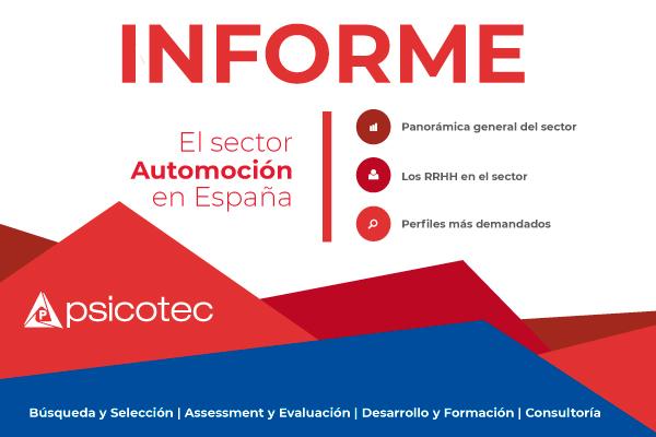Informe: Los Recursos Humanos en el sector Automoción en España