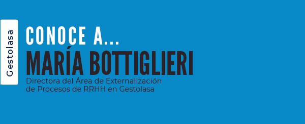 Protegido: María Bottiglieri, Directora del Área de Externalización de Procesos de RRHH en Gestolasa