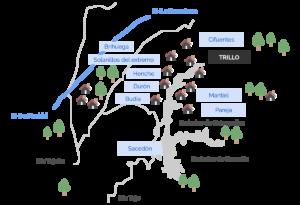 mapa entorno trillo